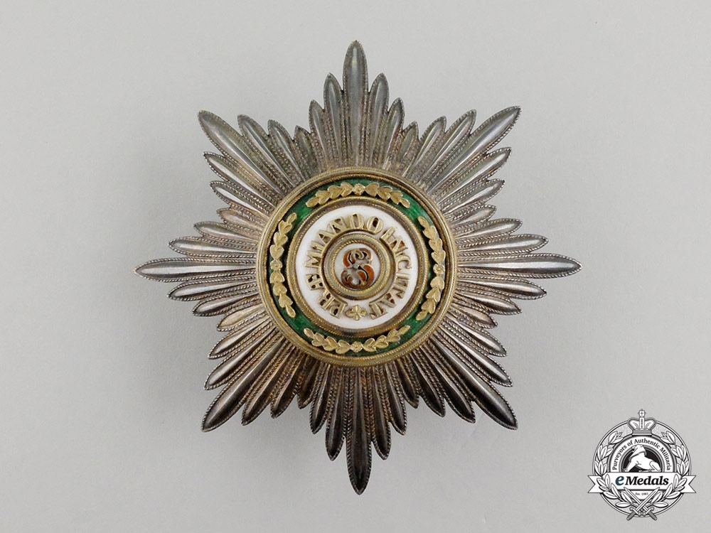 An Imperial Russian Order of St. Stanislaus, Breast Star by Julius Keibel