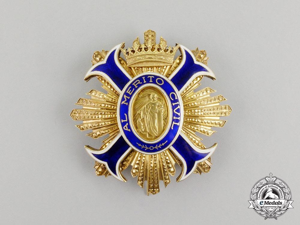 A Spanish Order of Civil Merit; Grand Cross Set Franco Era (1938-1975)