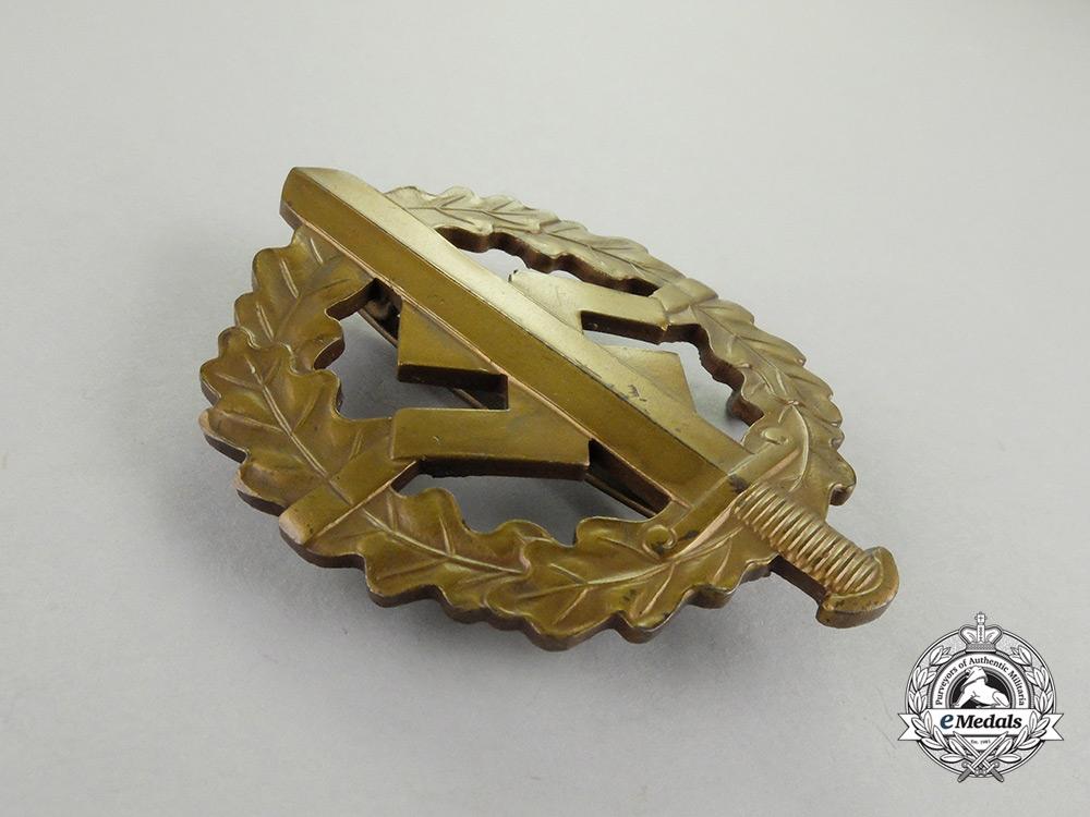 A Third Reich Period Bronze Grade SA Sports Badge by Karl Hensler of Pforzheim