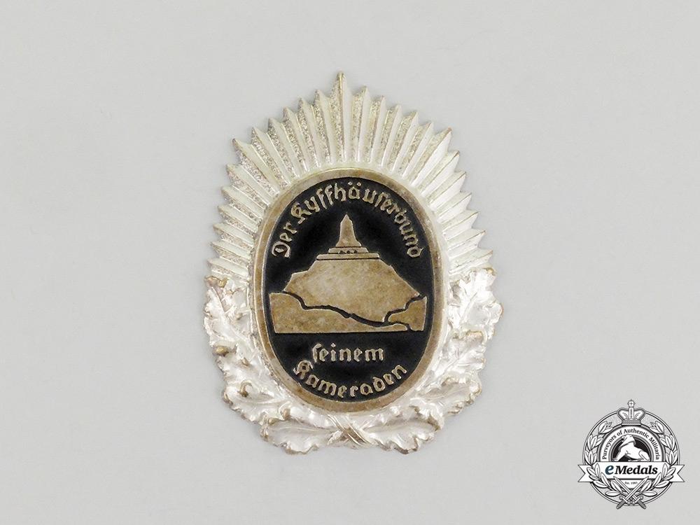 A Third Reich Period Kyffhäuserbund Award for Outstanding Membership