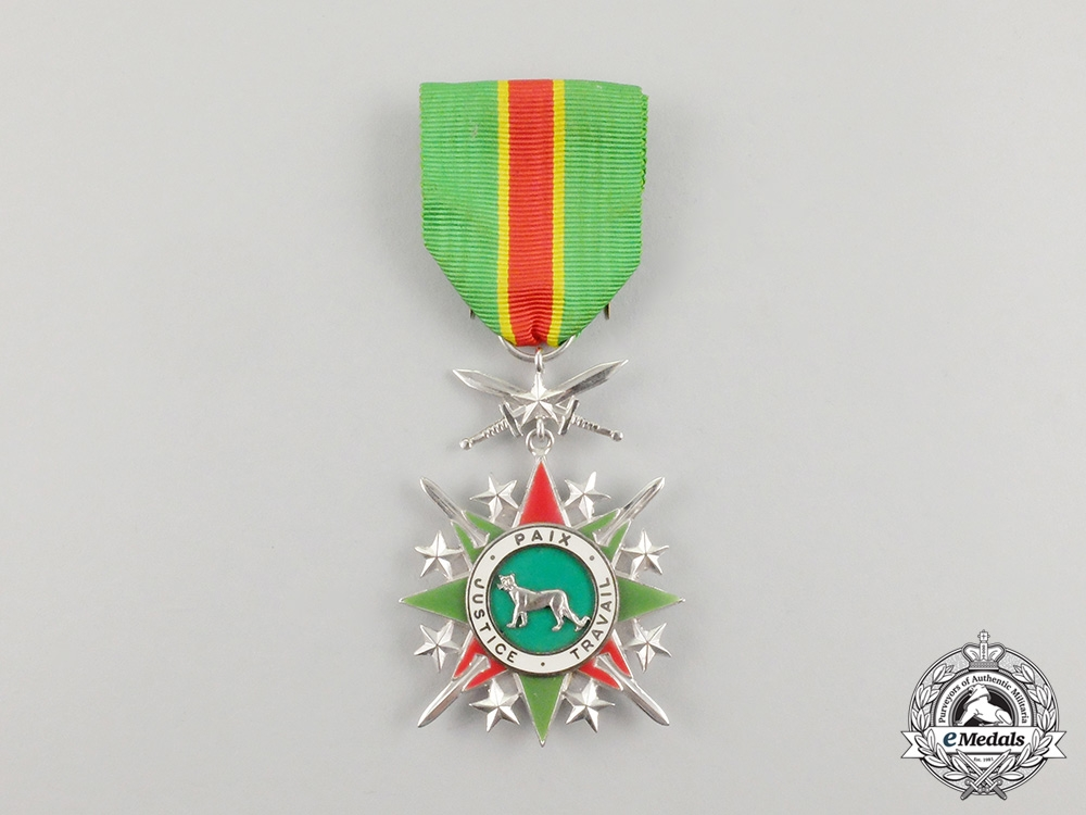 A Zaire National Order of the Leopard, Knight