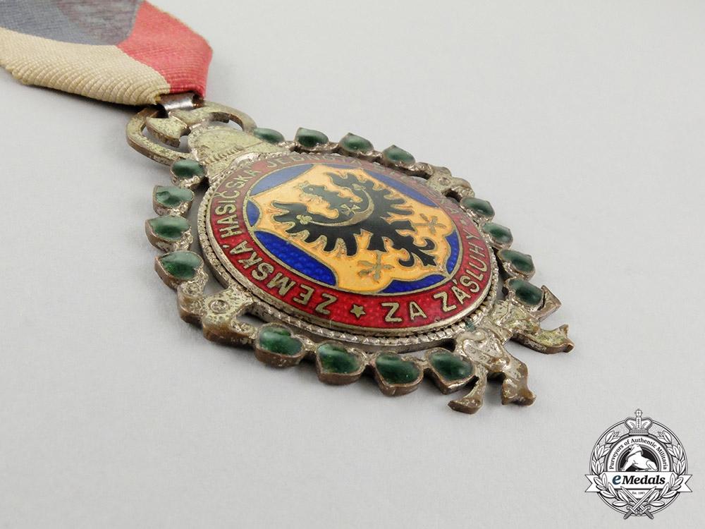 A Czech Fireman's Medal, Silver Grade