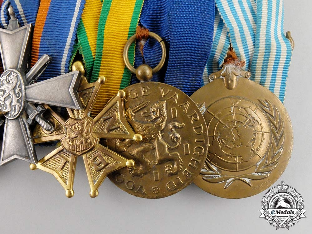 Netherlands, Kingdom. A Second War, Indonesian Conflict and Korean War Medal Bar