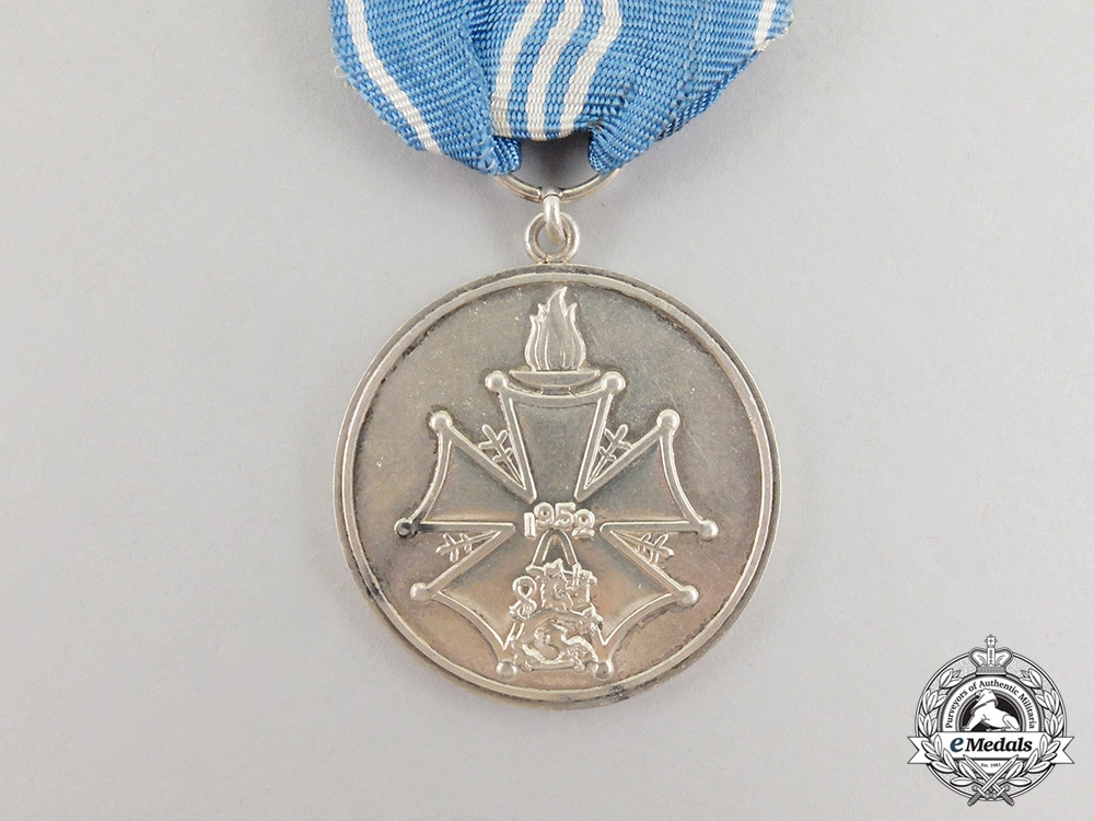 A Finnish XV Summer Olympic Games Merit Medal 1952