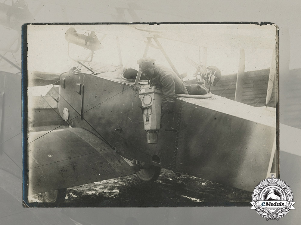 An Early First War Photo of German Observation Camera Installation