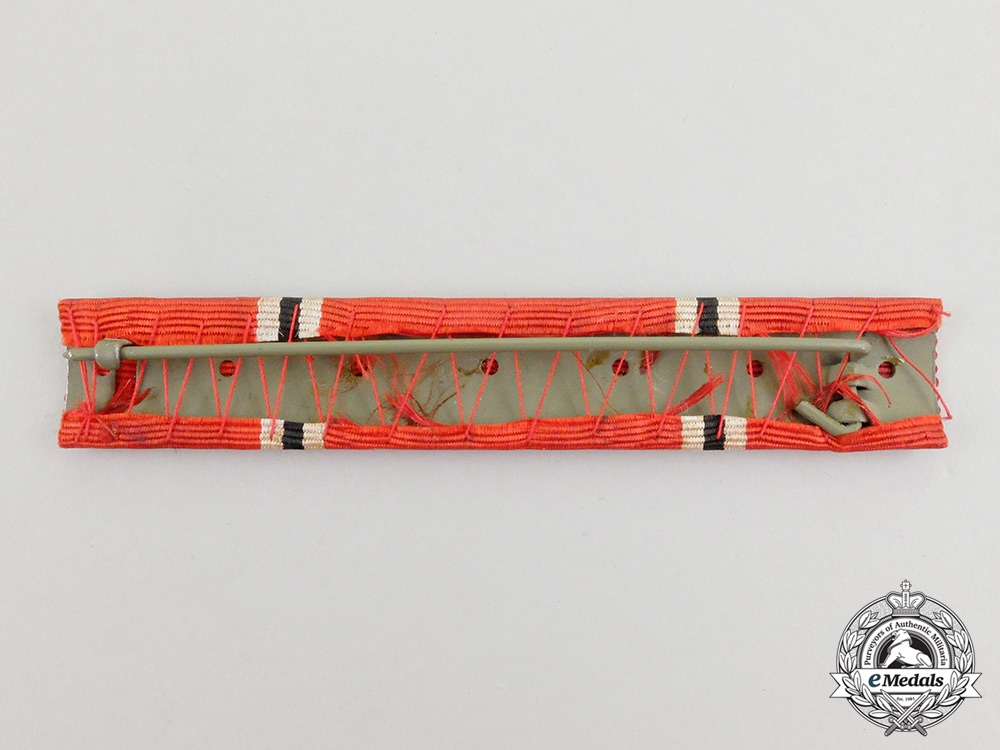 A Third Reich Grand Cross of the German Eagle Order Ribbon Bar