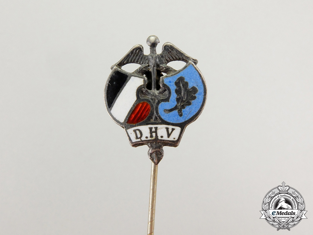 A Third Reich Period DHV (National Association of Commercial Employees) Stick Pin