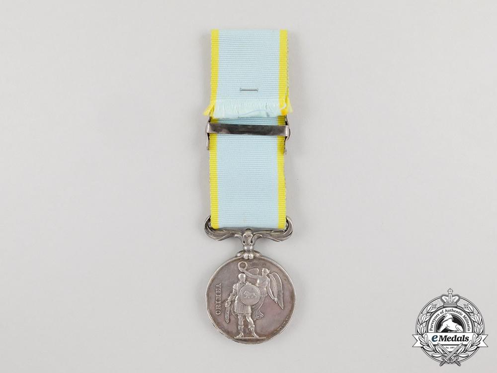 An Un-Named British Crimea Medal with Balaclava Clasp