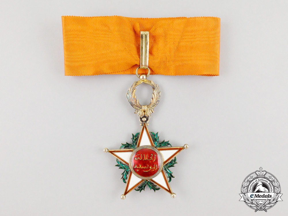 A Moroccan Order of Ouissam Alaouite, Commander, 3rd Class
