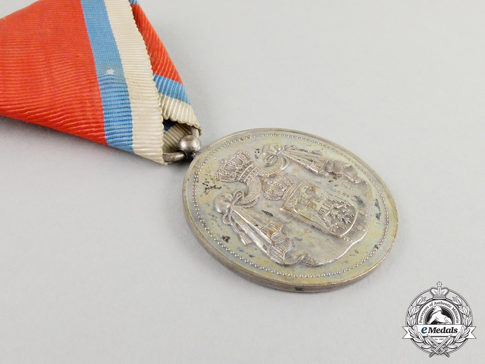 A First War Period Serbian Medal for Civil Merit; Second Class in Case of Issue