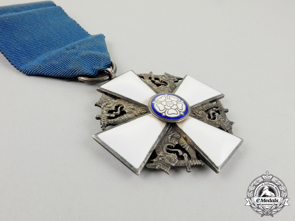 A Finnish Order of the White Rose; Knight 2nd Class