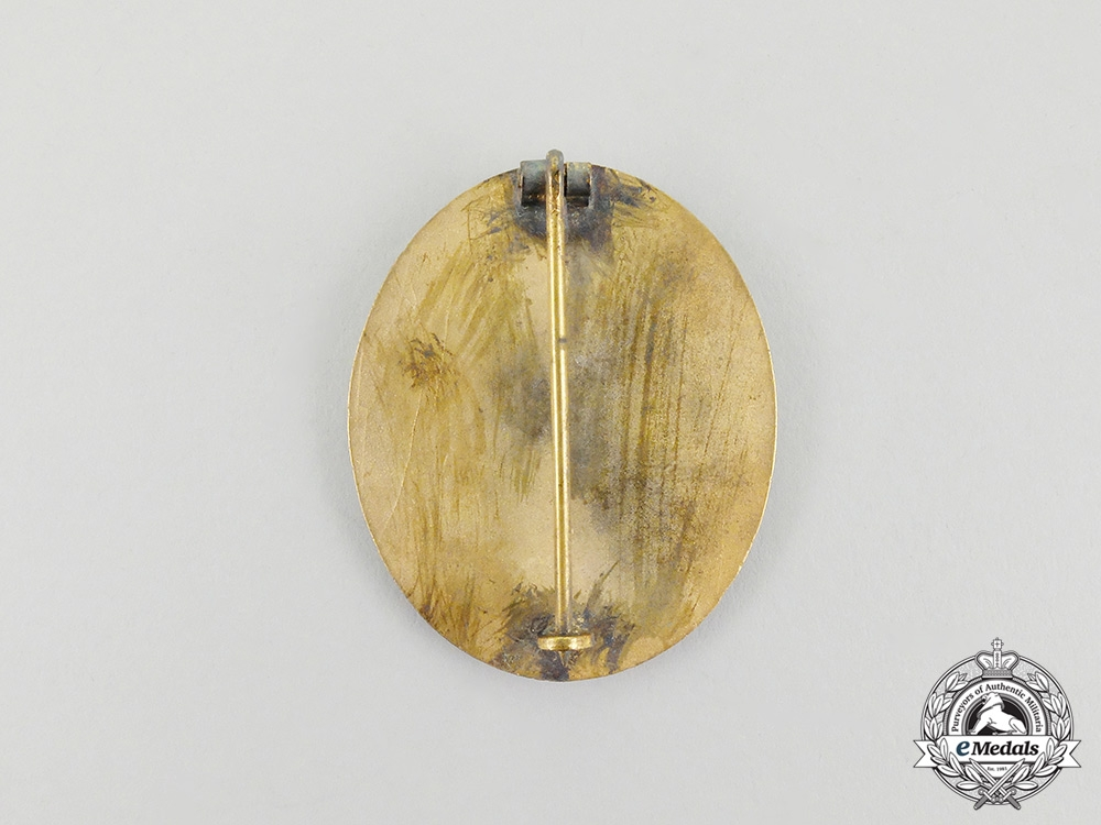 A Second War German Gold Grade Wound Badge