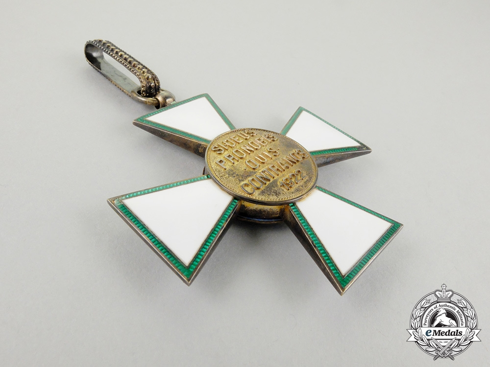 Hungary (Regency). An Order of Merit Grand Officer's Set; Civil Division with Case