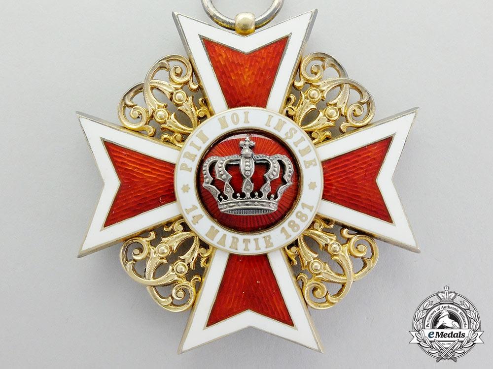 Romania, Kingdom. An Order of the Crown, Grand Cross, c.1920