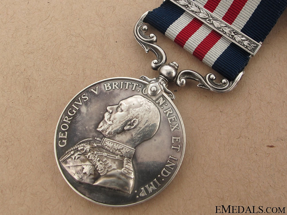 Military Medal & Bar to the Manitoba Regiment