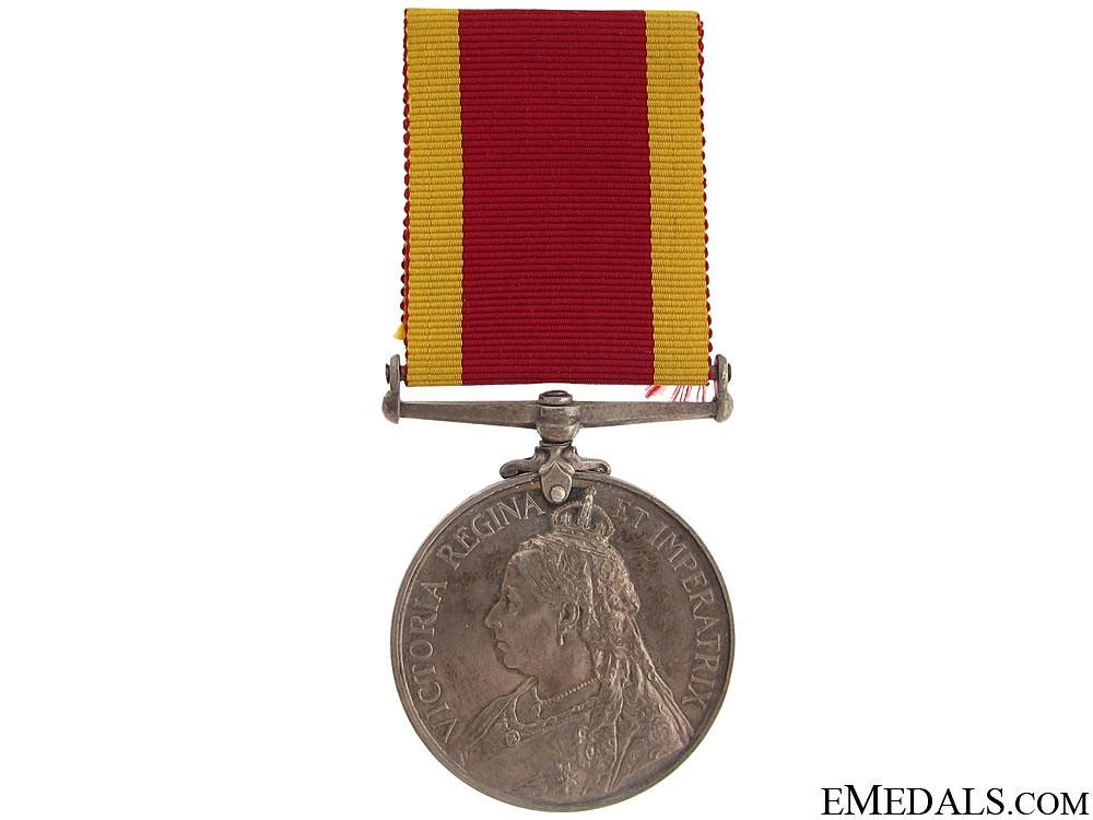 China War Medal 1900 - HMS Bonaventure