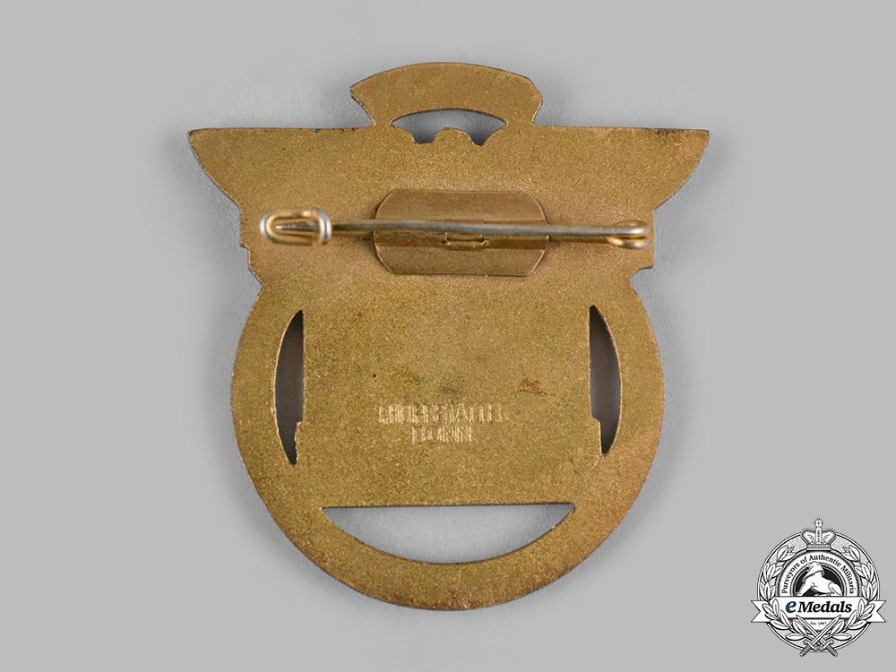 Germany, HJ. A 1937 Reichskampf Munich Participation Badge by Ferdinand Hoffstätter