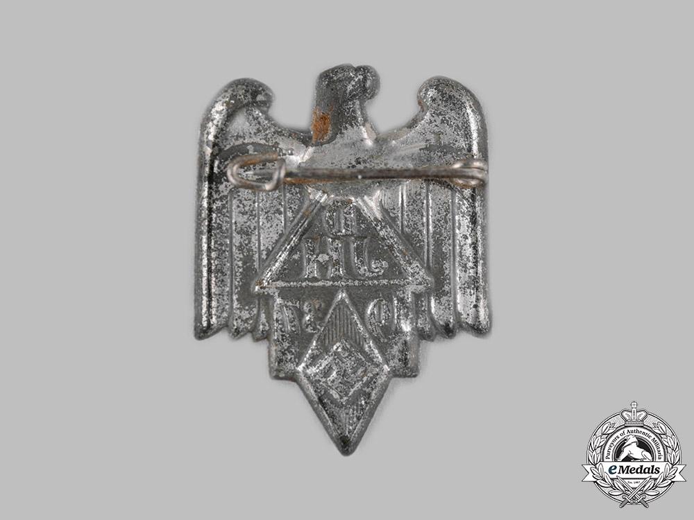 Germany, DJ/HJ. A 1937 Joint DJ and HJ Event Badge