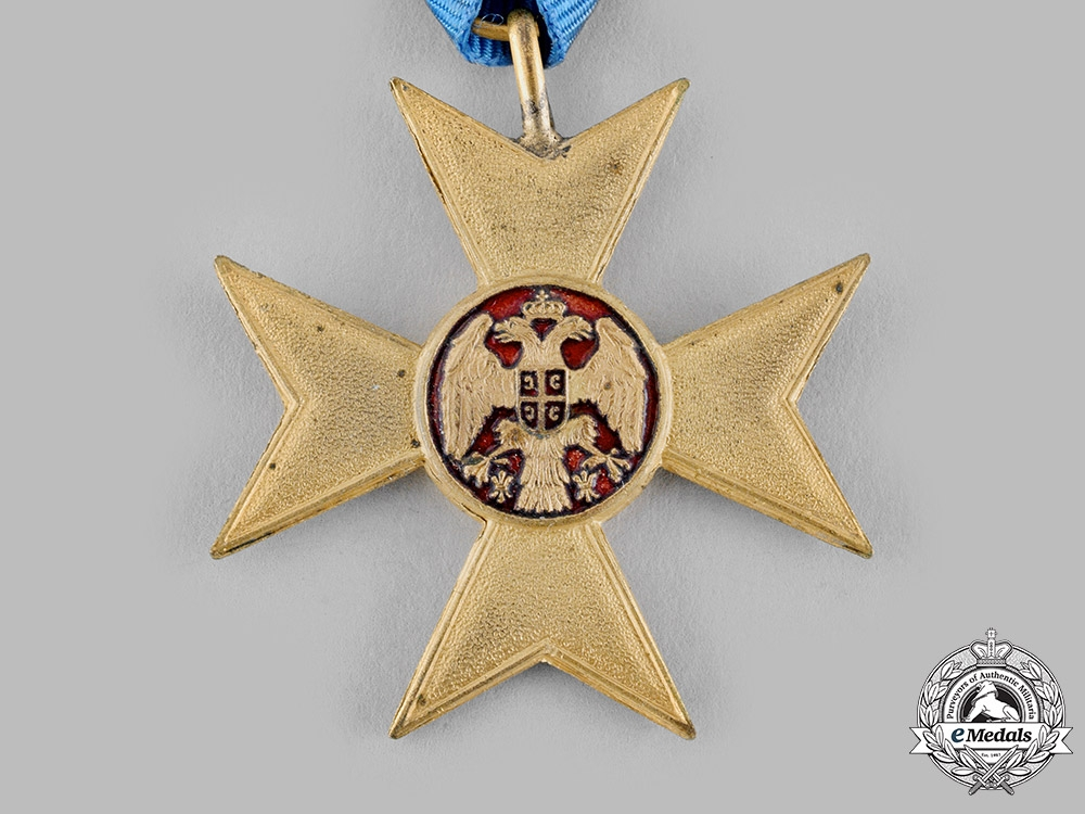 Serbia, Kingdom. A Cross of Charity for the First Balkan War 1912