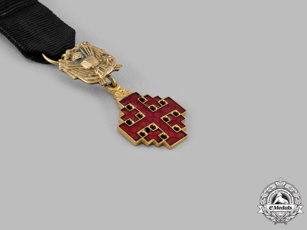 Vatican. Equestrian An Order of the Holy Sepulchre of Jerusalem, Miniature