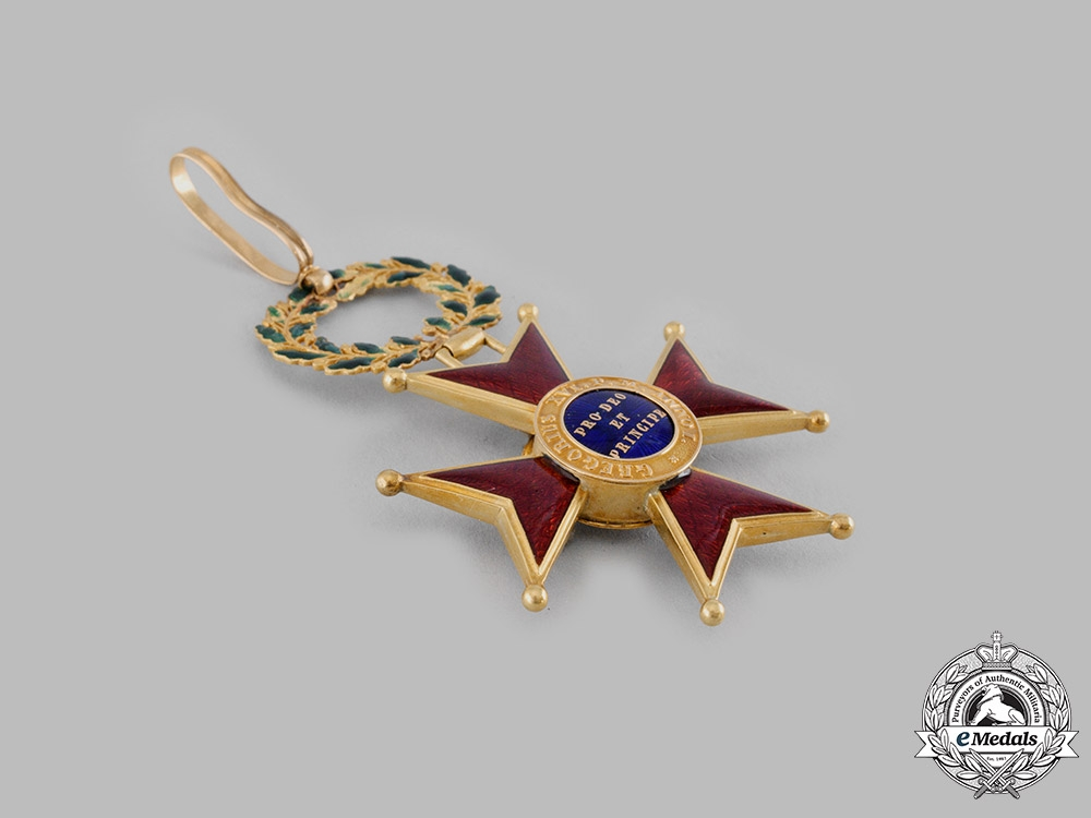 Vatican. An Order of St. Gregory the Great for Civil Merit in Gold, II Class Commander, c.1900