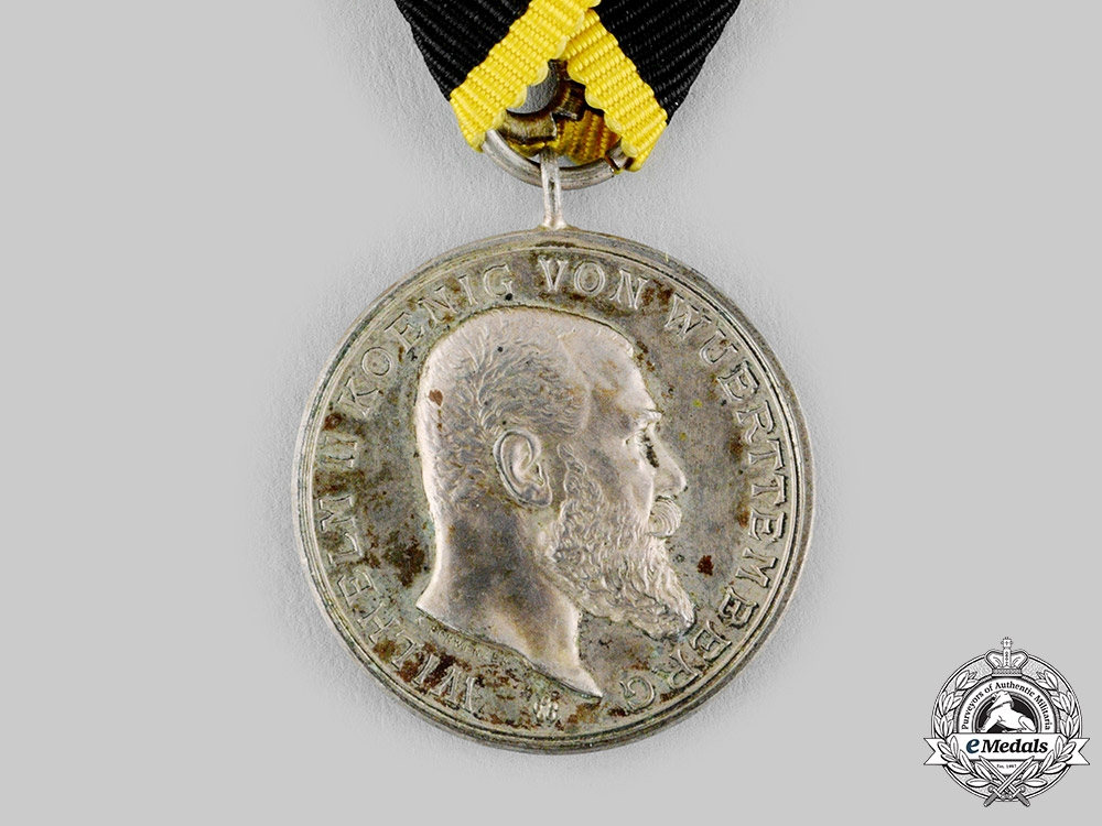 Württemberg, Kingdom. A Military Merit Medal in Silver, c.1900