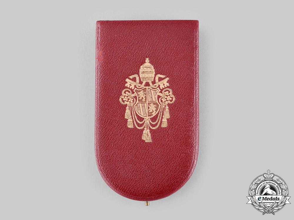 Vatican. An Order of St. Gregory the Great for Military Merit, III Class Knight's Case, c.1870