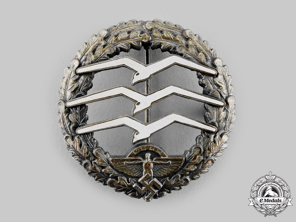 Germany, NSFK. A National Socialist Flyers Corps (NSFK) Large Glider Pilot's Badge