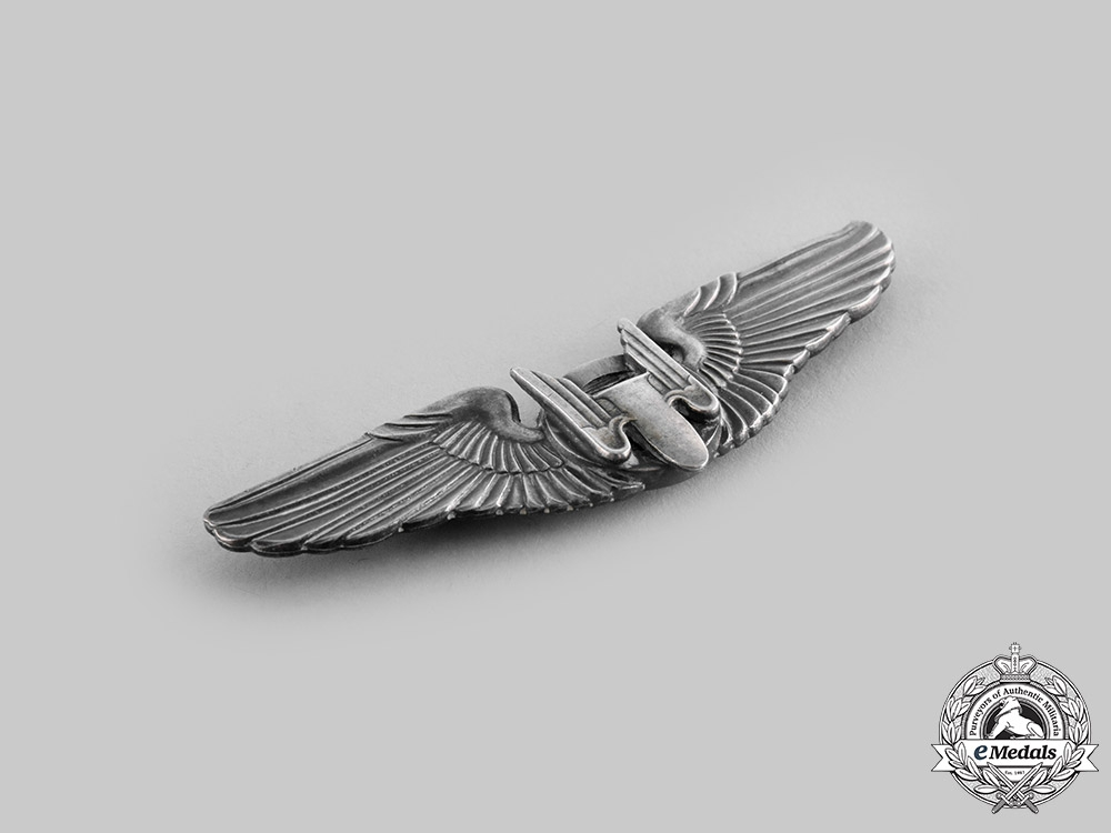 United States. An Australian-Made Army Air Force Aerial Gunner Badge, by K.G.Luke, c.1941
