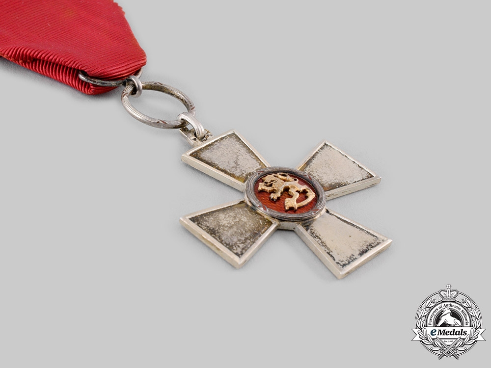 Finland, Republic. An Order of the Lion of Finland, Merit Cross, c.1942
