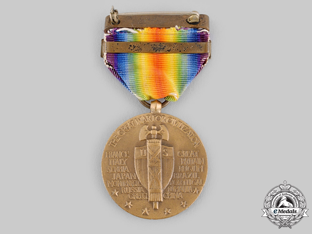 United States. A World War I Victory Medal, Destroyer Clasp
