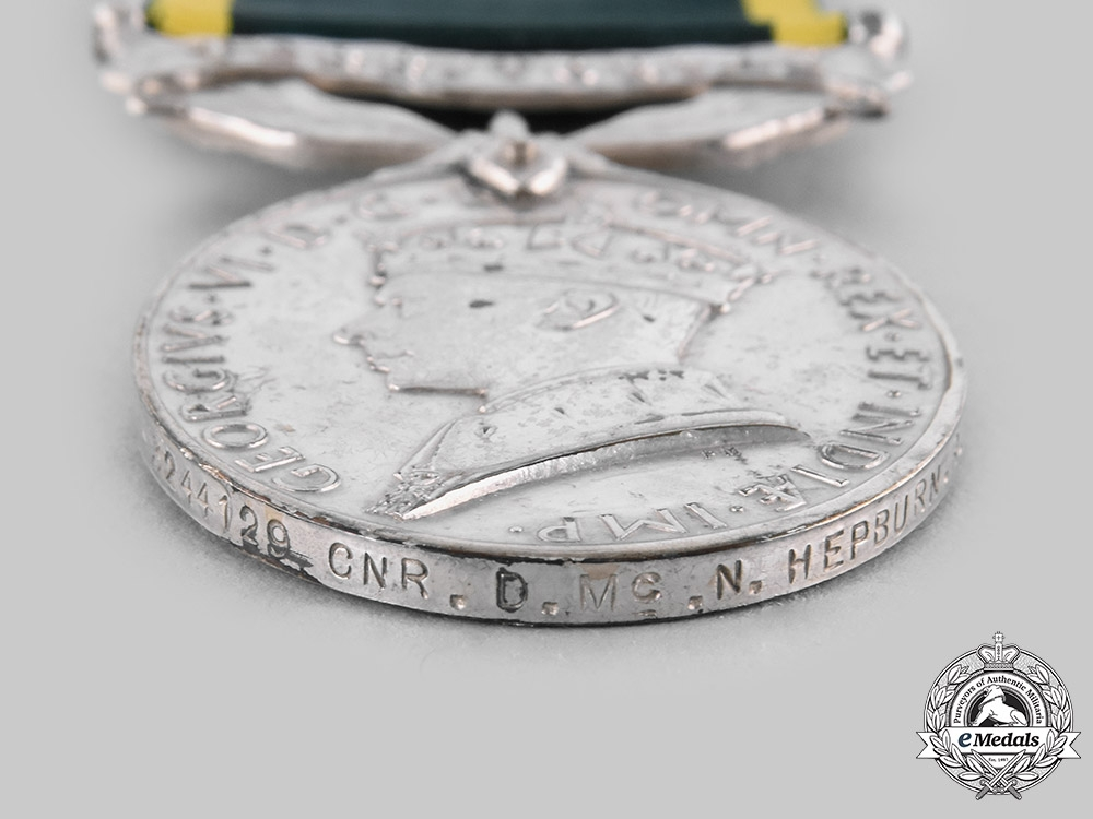 United Kingdom. Two Efficiency Medals to Gunners of the Royal Artillery