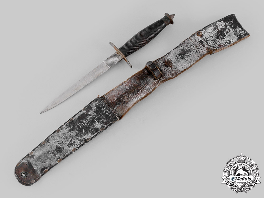 United States. A First Special Service Force V-42 Stiletto by W.R. Case & Sons