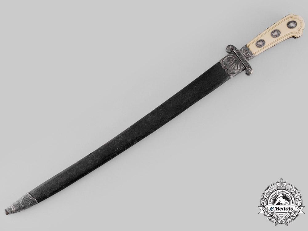 France, Kingdom. A Hunting Sword, by Le Peton, ca. 1750