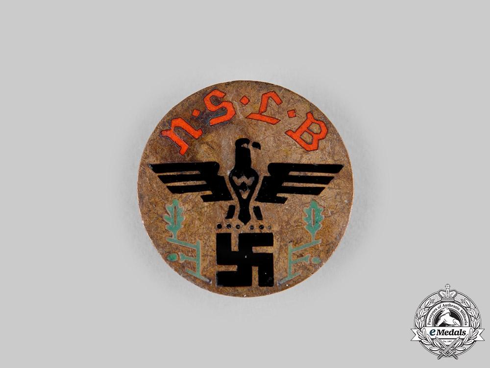 Germany, Third Reich. A National Socialist Teachers League Membership Badge, by HCA Timm