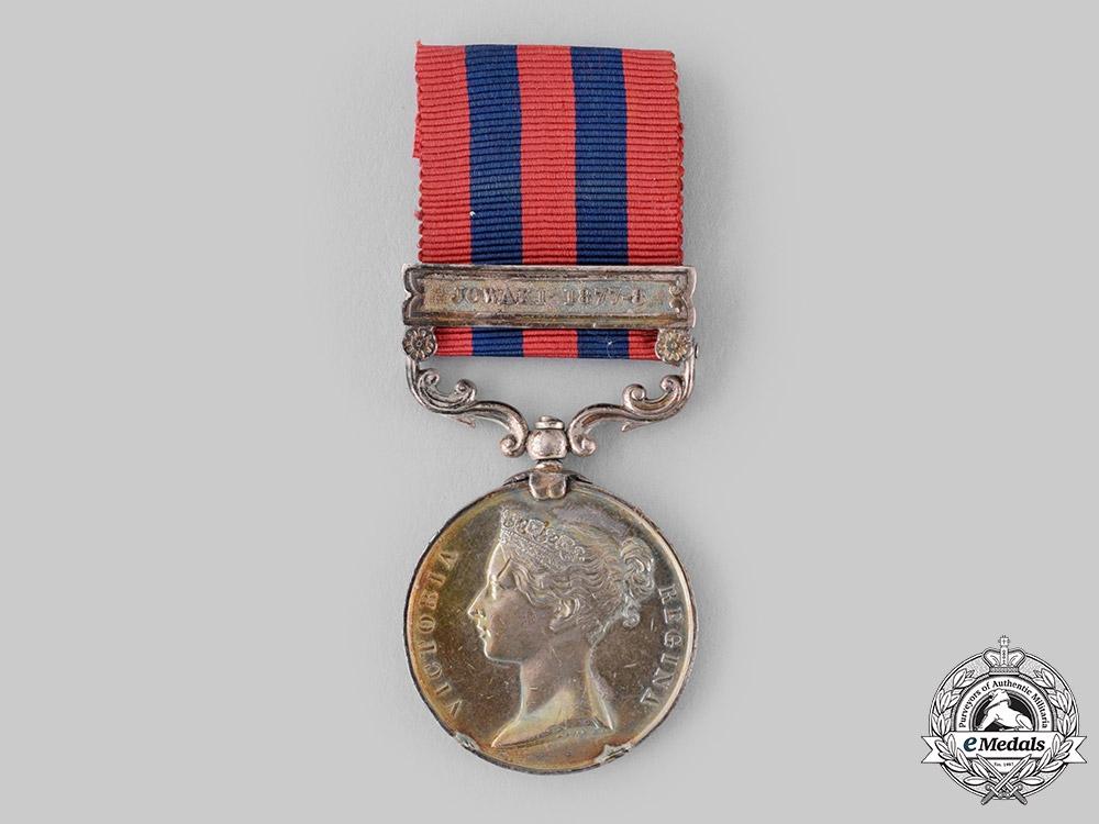 United Kingdom. An India Medal 1854-1895, 29th Regiment, Native Infantry