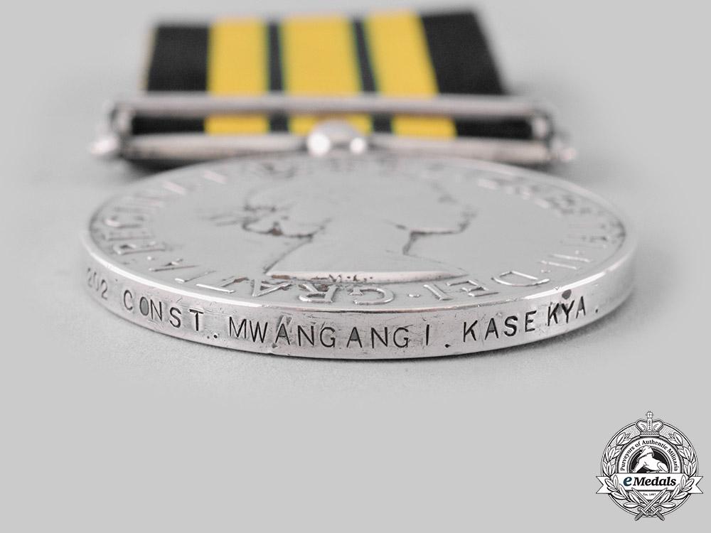United Kingdom. An Africa General Service Medal 1902-1956, Constable Mwangangi Kasekya