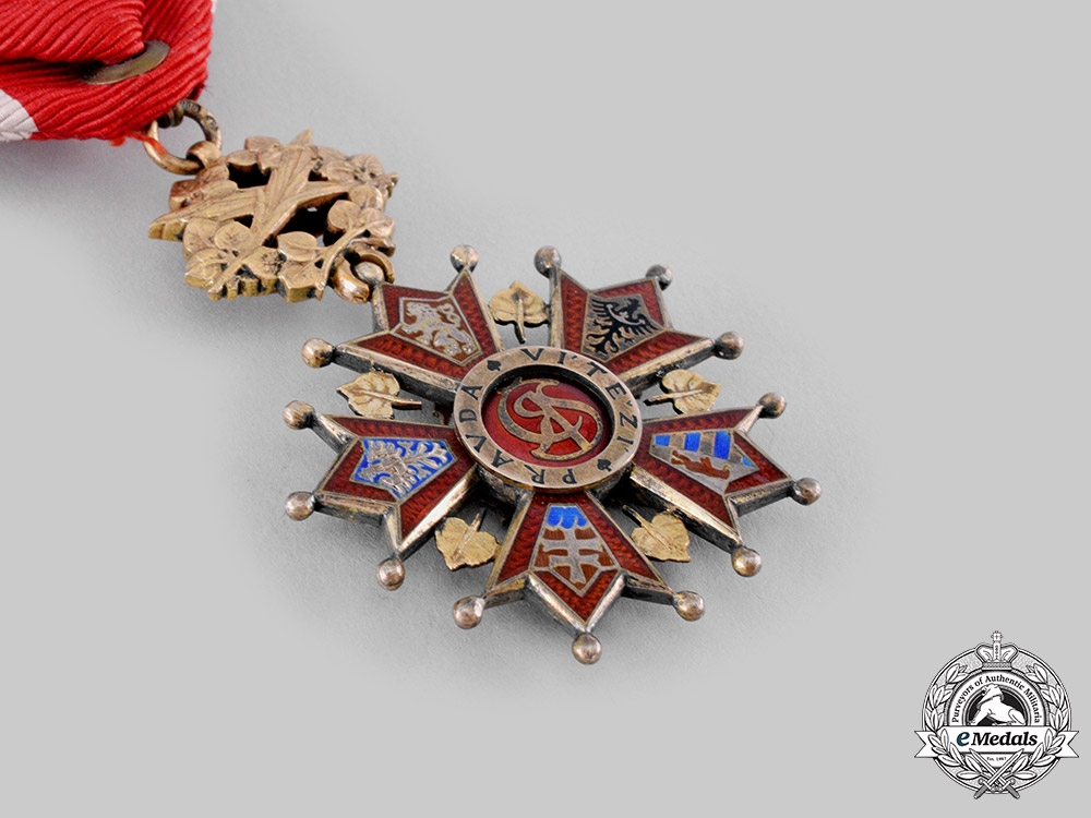 Czechoslovakia, Republic. An Order of the White Lion, IV Class Officer, by Karnet & Kysely, c.1940