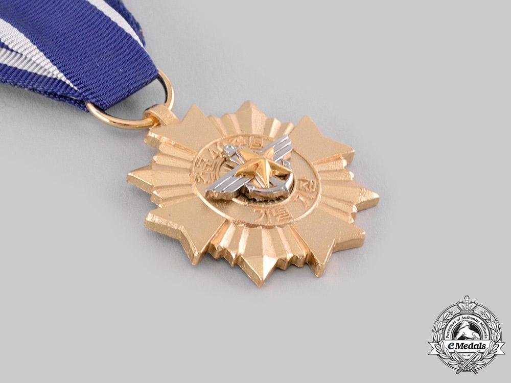 Korea, Republic, South Korea. A 40th Anniversary of Republic of Korea Army Medal