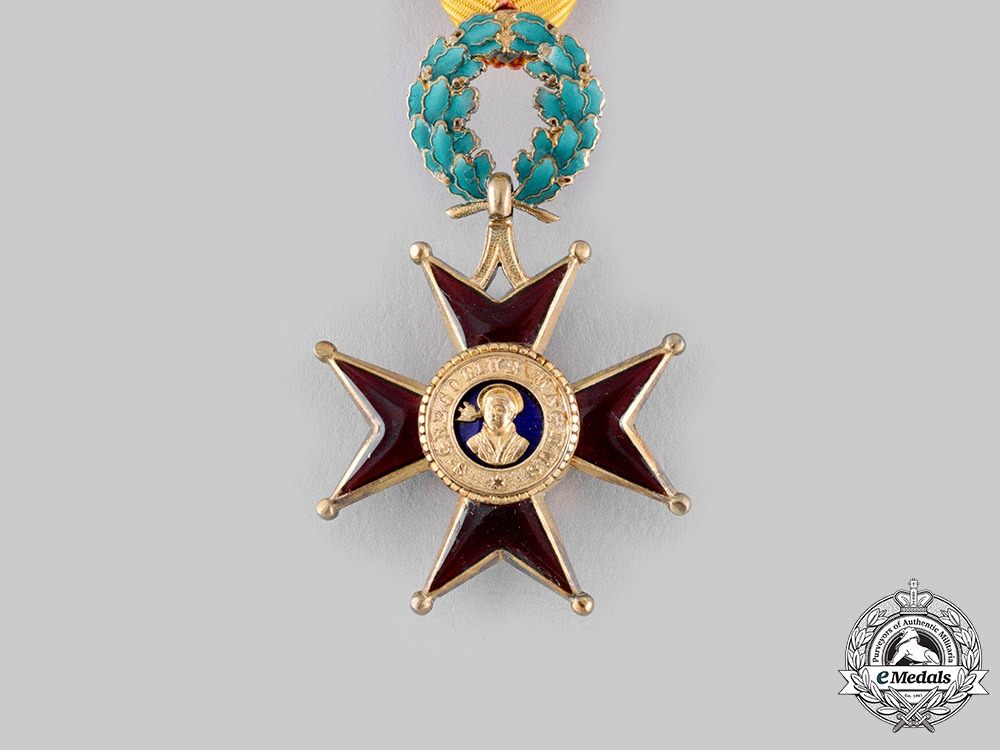 Vatican. A Pontifical Equestrian Order of St. Gregory the Great for Civil Merit, III Class Knight