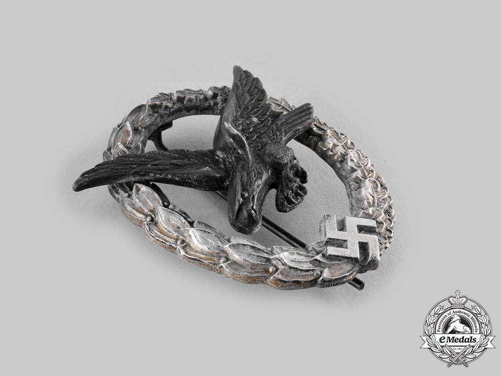 Germany, Luftwaffe. An Air Gunner Badge