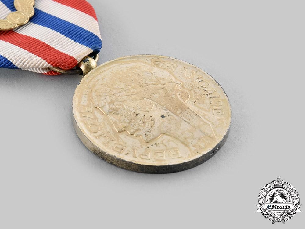 France, V Republic. A Medal of Honour for Aeronautics, II Class Silver, c.1950