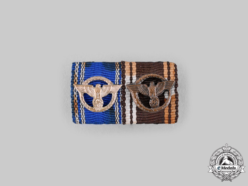 Germany, NSDAP. A Long Service Award Ribbon Bar