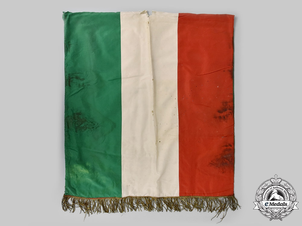 Italy, Fascist State. A Scarce Standard for Italian Volunteers in the Spanish Civil War, c.1936