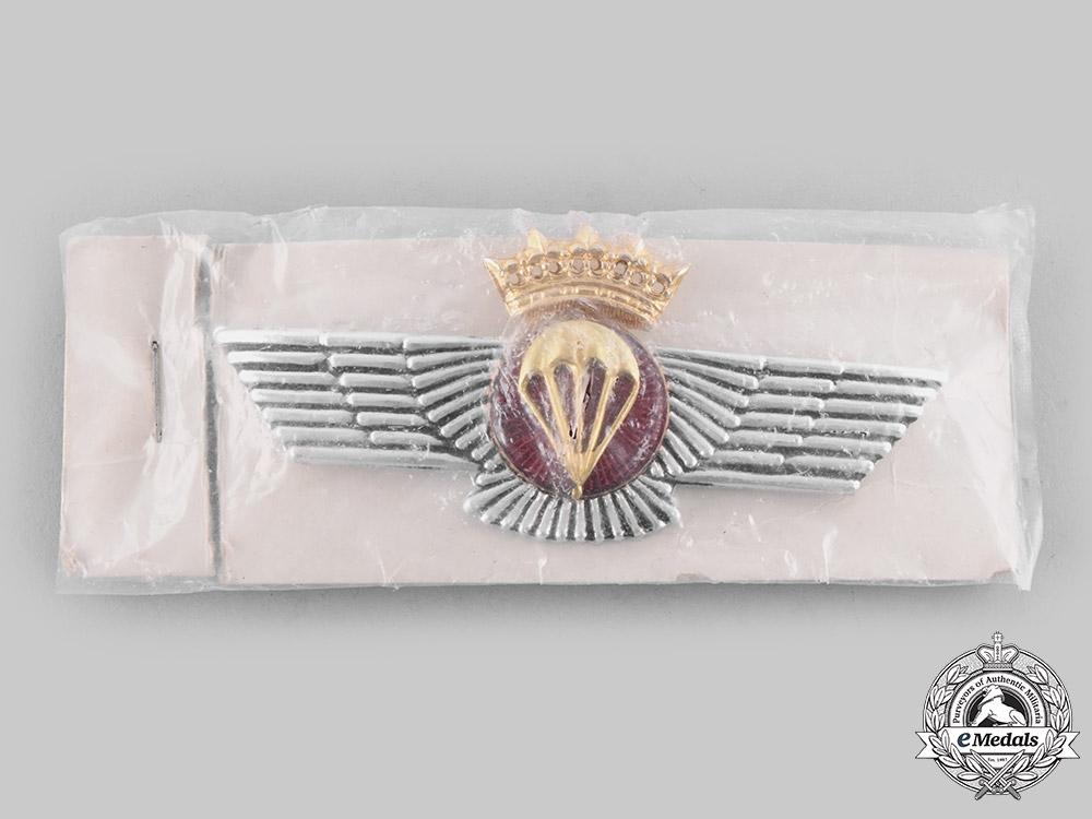 Spain, Fascist State. A Spanish Air Force Parachutist's Qualification Badge c.1960