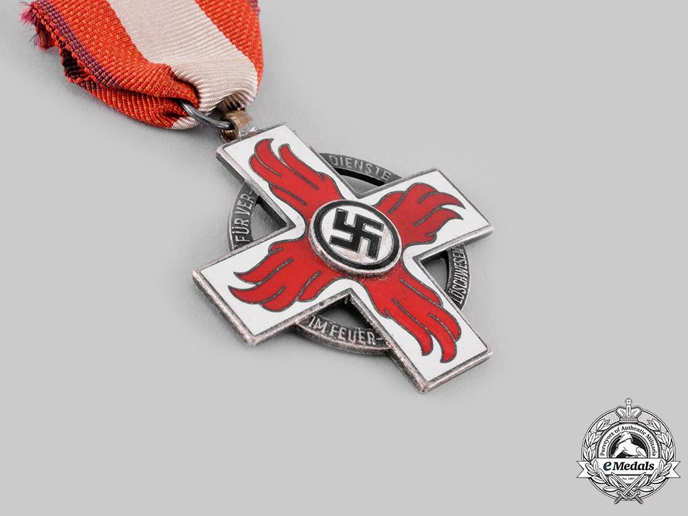 Germany, Third Reich. A Fire Brigade Honour Badge, II Class