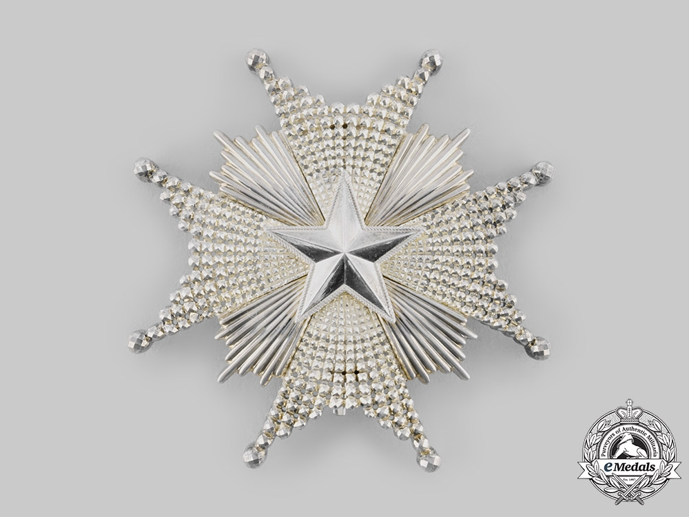 Sweden, Kingdom. An Order of the North Star, Commander Grand Cross Collar Chain & Star, c.1890