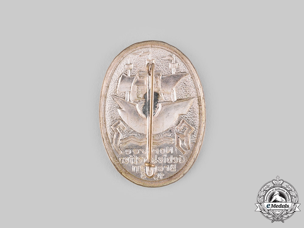 Germany, HJ. A 1933 Bremen District Meeting Badge
