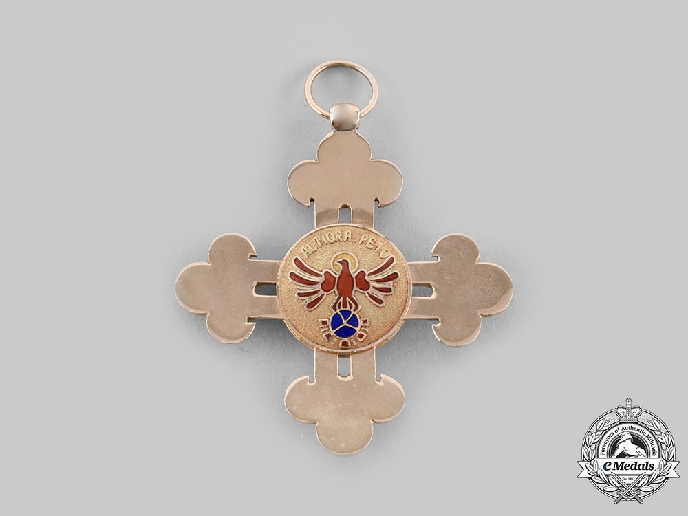 Spain, Fraco Period. A Civil Order of Alfonso X the Wise in Gold and Diamonds, Grand Cross, c.1940