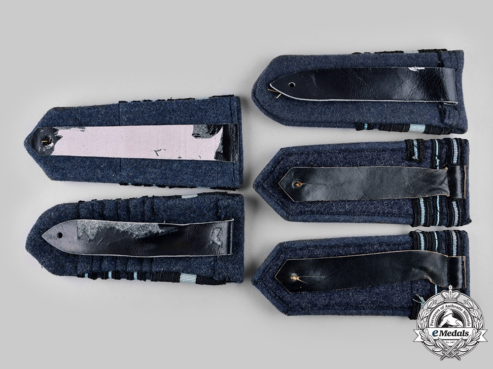 Canada. A Lot of Five Royal Canadian Air Force (RCAF) Commissioned Ranks Shoulder Boards